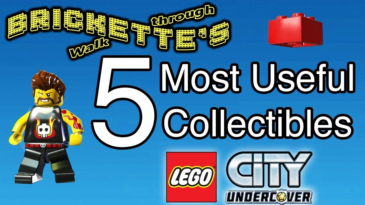 "Lego City: Undercover"" 5 Most Useful Collectibles - Rex Fury And 4  Lego Star Wars Lego City Cheats"