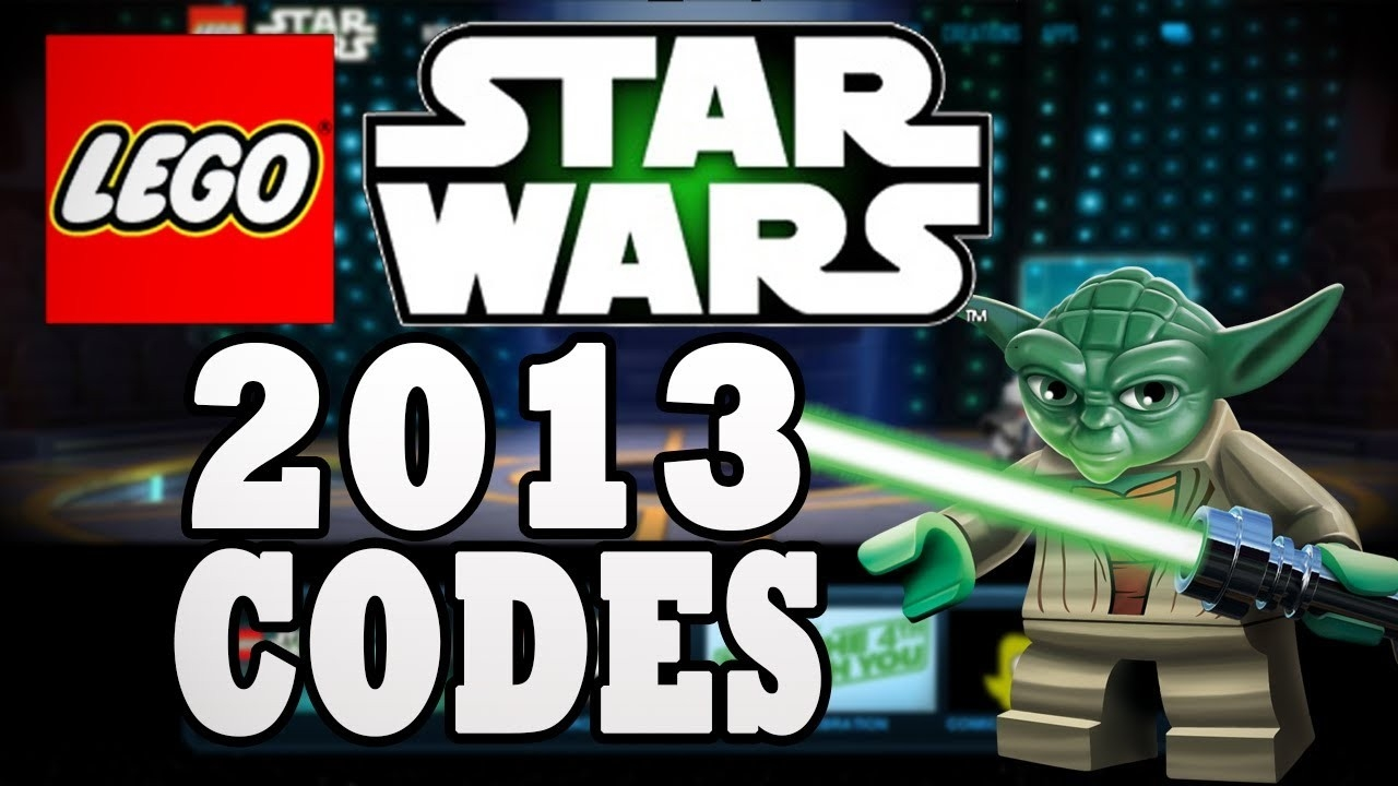 Lego Star Wars 2013 Holocron Vault Codes - Youtube  Lego Star Wars Advent Calendar Code