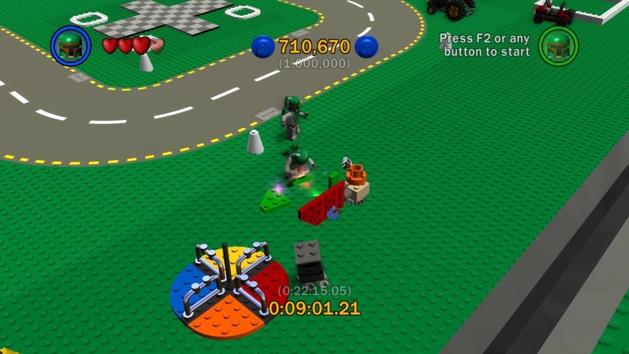 Lego Star Wars The Complete Saga Lego City 1,000,000 (One Million  Lego Star Wars Lego City Cheats
