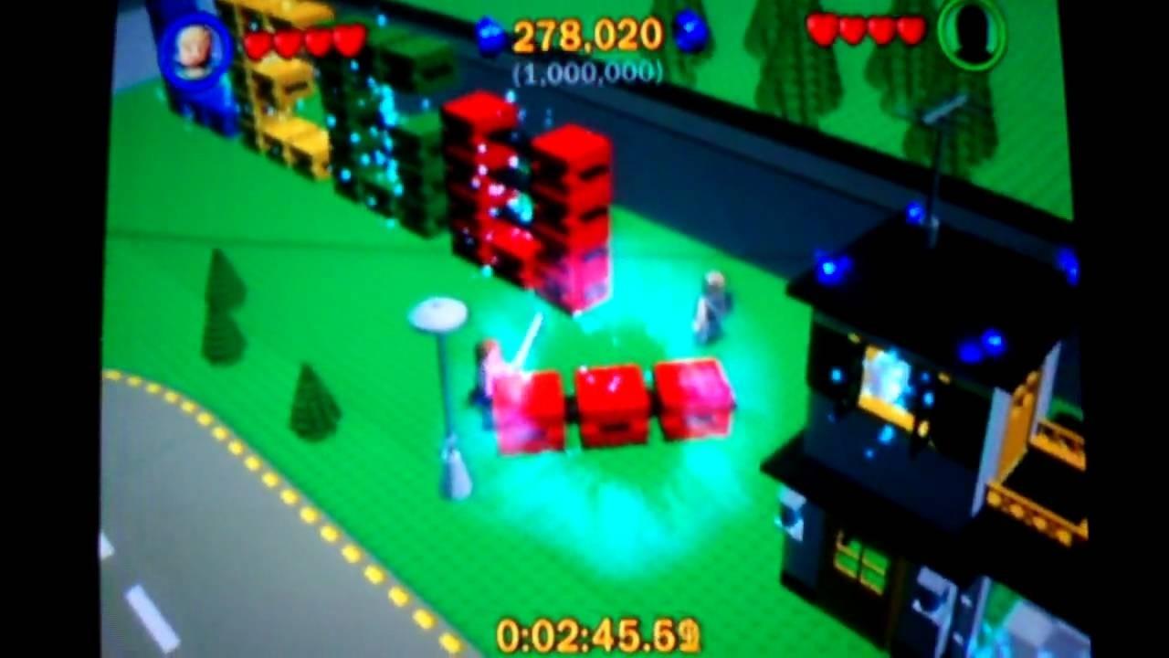 Lego Star Wars: The Complete Saga Walkthrough: Lego City P1 - Youtube  Lego Star Wars Lego City Cheats