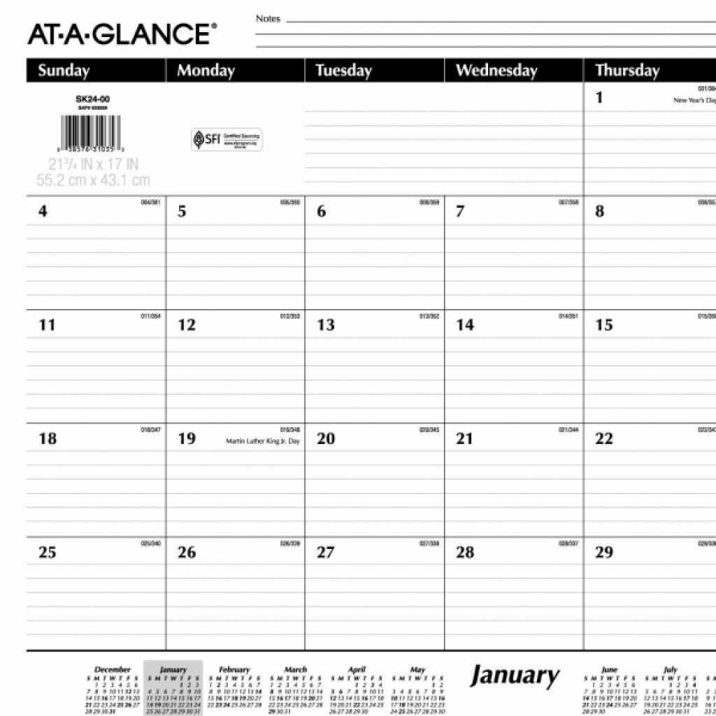 Monthly Calendar With Lines | 2018 Yearly Calendar  Blank Monthly Calendar With Lines