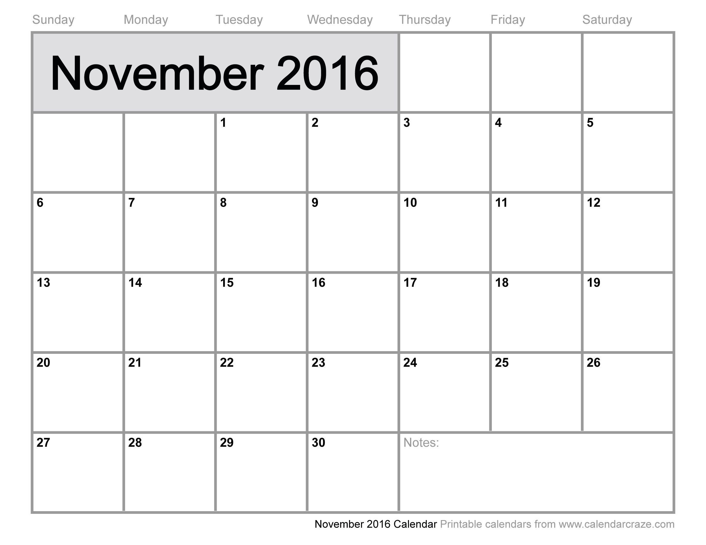 November 2016 Calendar Panchang - Template - Template | Calender  2014 Calendar Printable Full Page