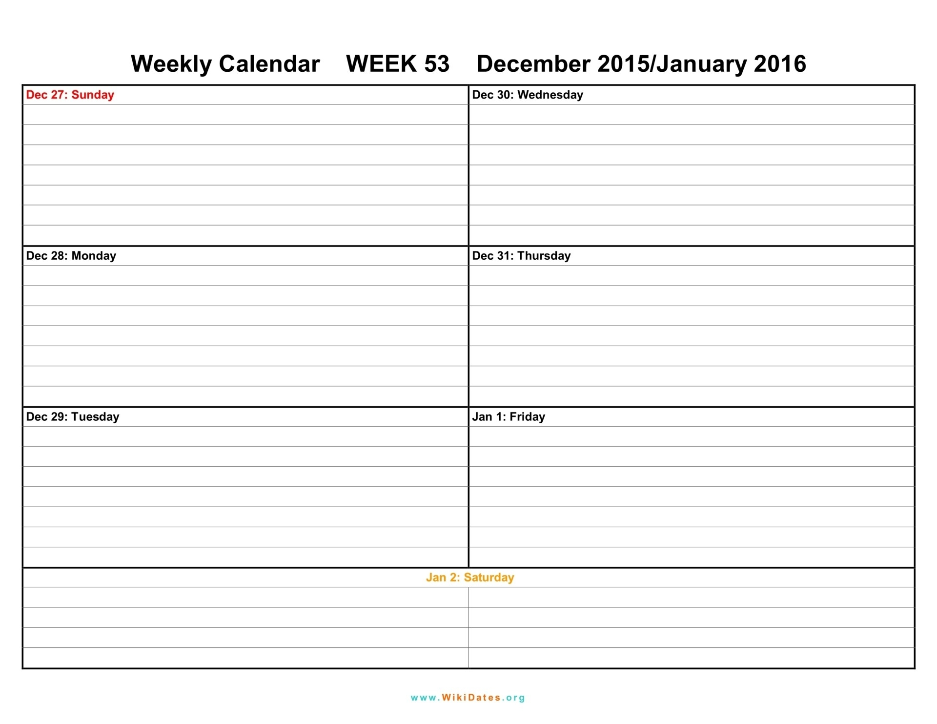 Pdf-Printable-Weekly-Calendar-Template-July  Free Printable Blank Weekly Calendars