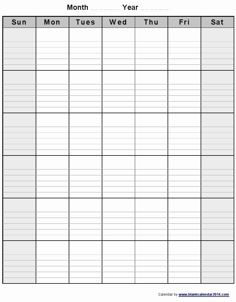 Printable Month Calendar. Printable Monthly Calendar Templates Blank  Printable Monthly Calendar With Lines