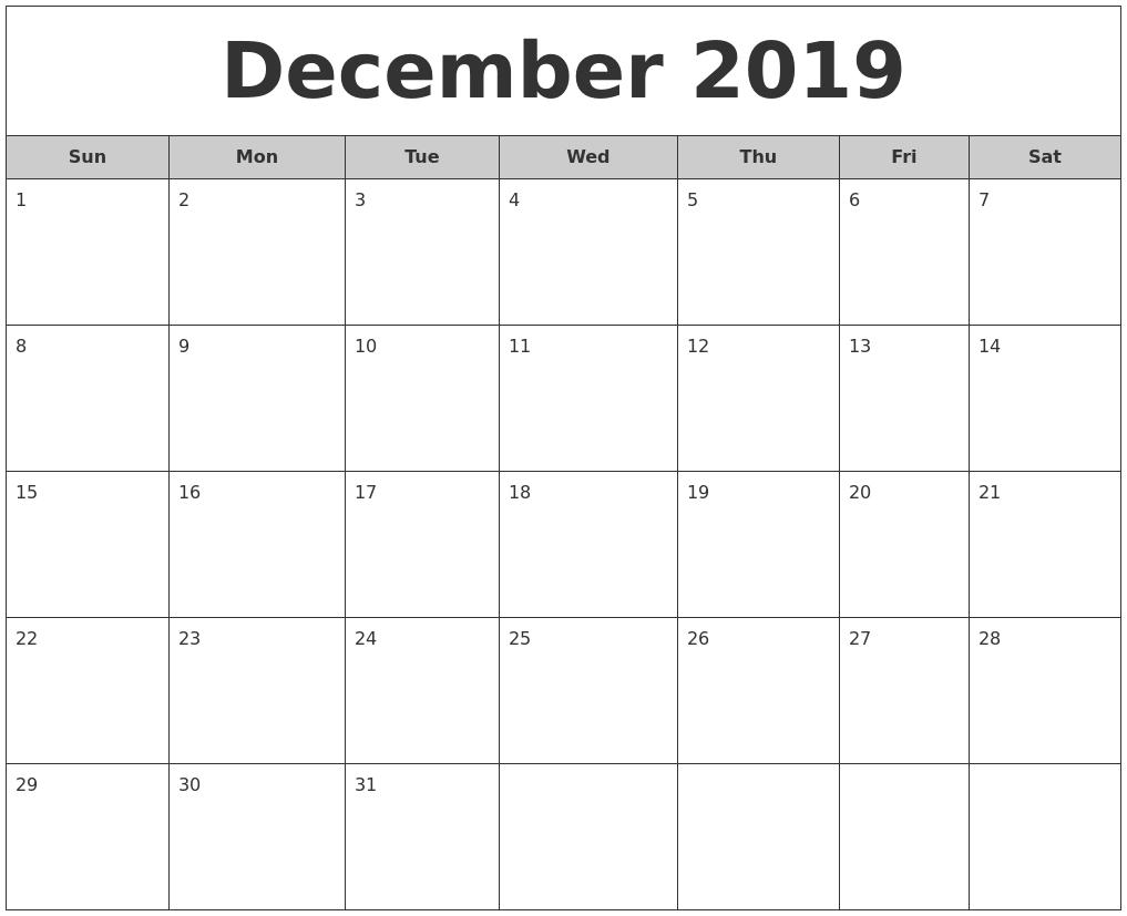 Schedule Template Blank Calendar Printable Month Download Them Or  Month To Month Calendar Printable