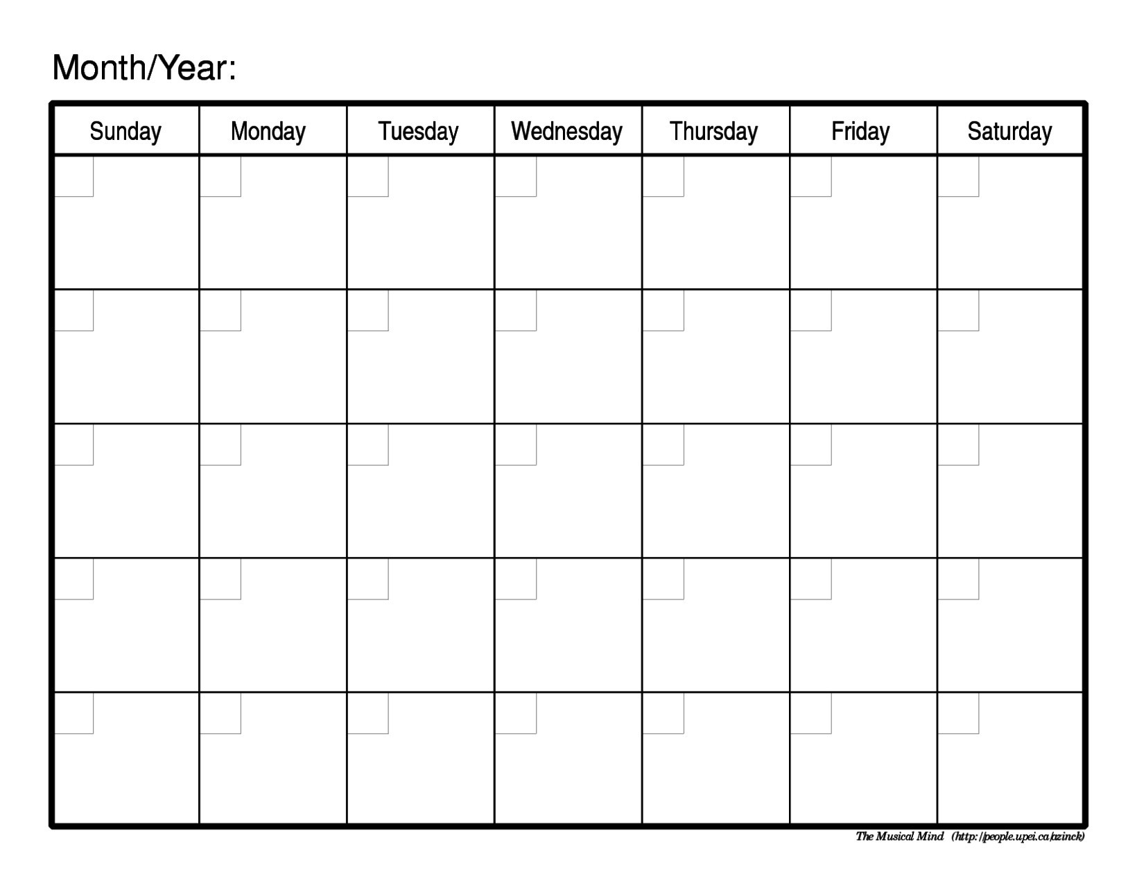 Schedule Template Free Blank Printable R Aaron The Artist Weekly  Free Blank Printable Monthly Calendar