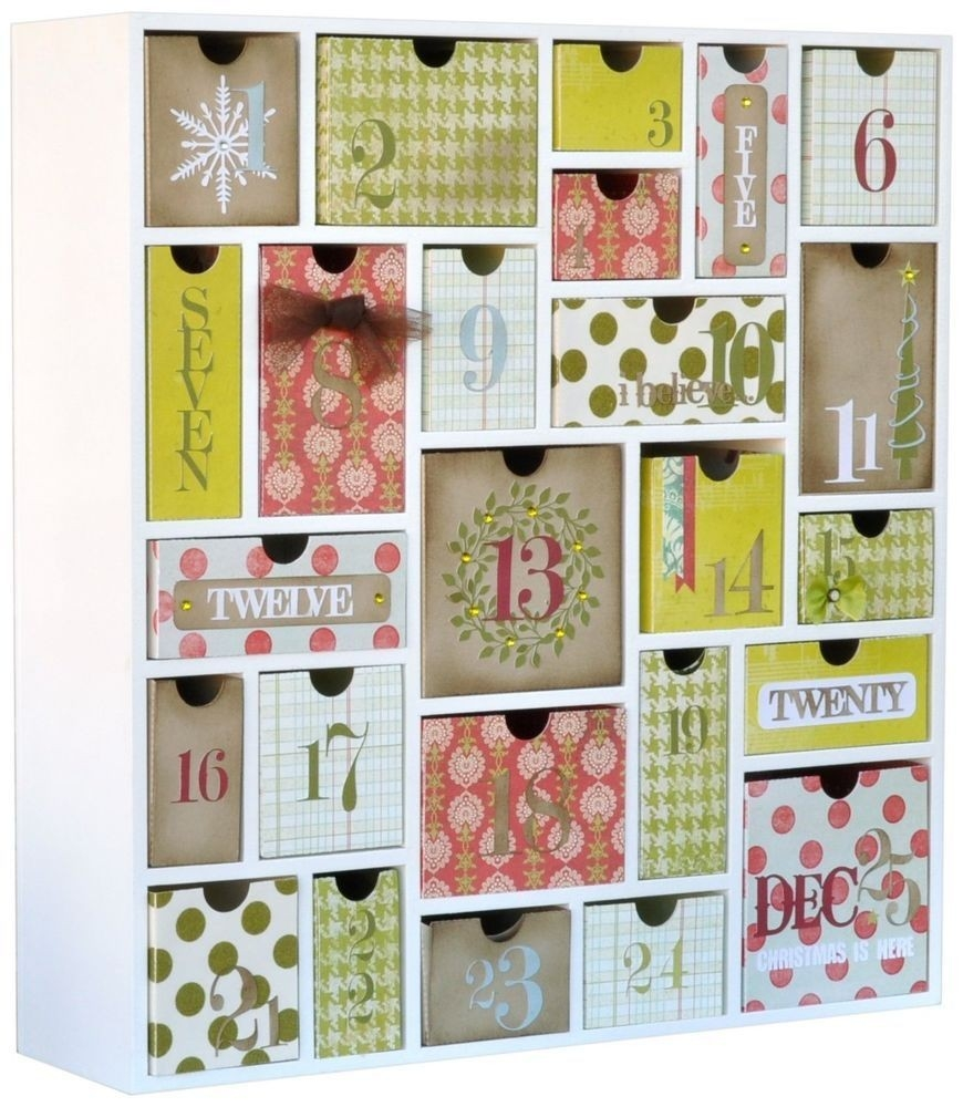 Silhouette Advent Calendar Shadow Box + Box Designs To Downwload For  Wooden Shadow Box Advent Calendar