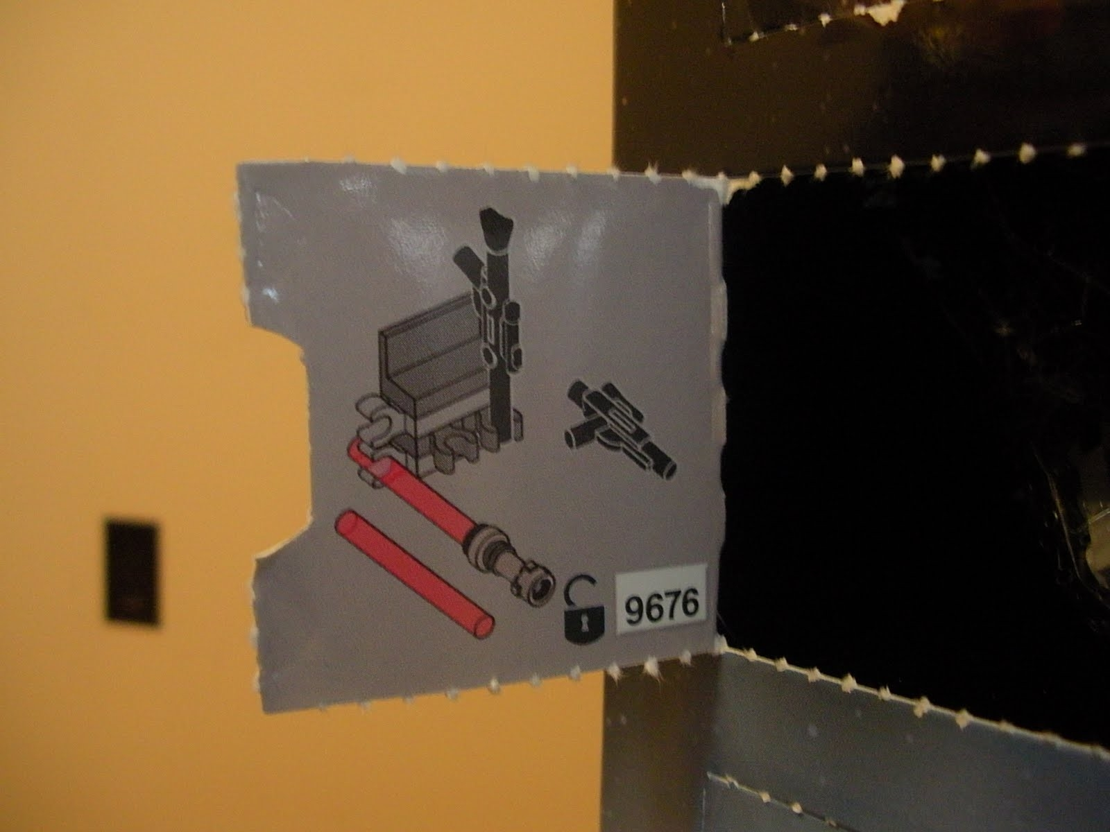 The Stunt Zombie: Lego Star Wars Advent Calendar Day 14  Lego Star Wars Advent Calendar Code