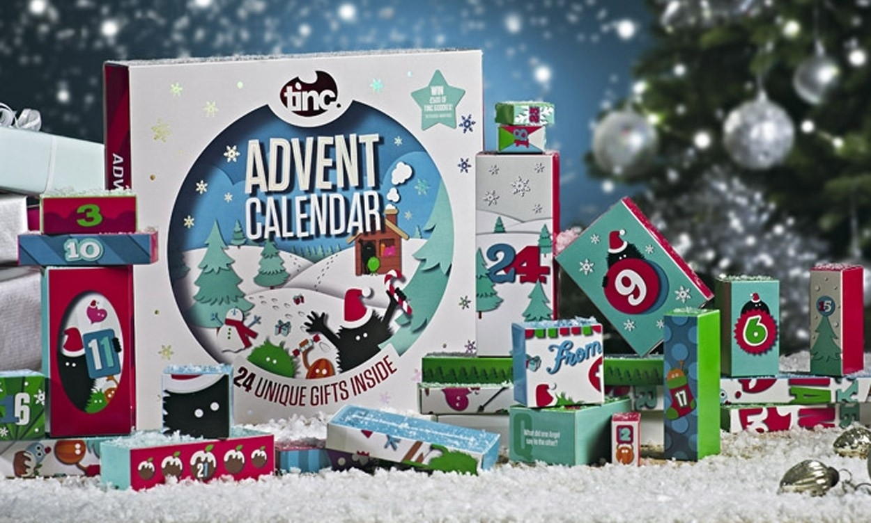 Tinc 2018 Stationery & Gifts Advent Calendar Now Available  Girls Advent Calendar With Gifts