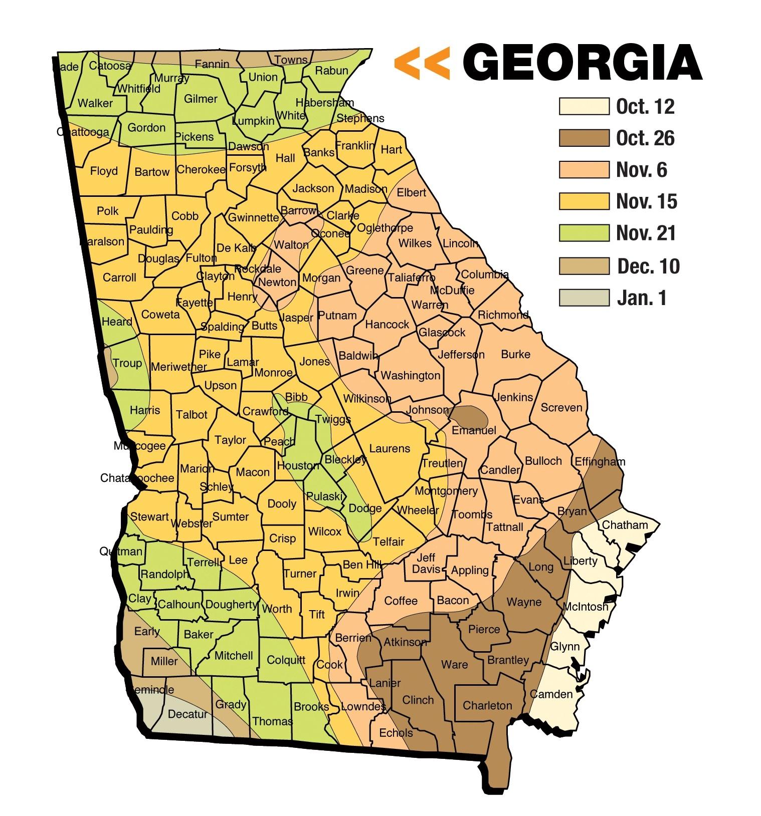2012 Pennsylvania Hunting Thread***** - Page 23  Whitetail Rut Map Ga