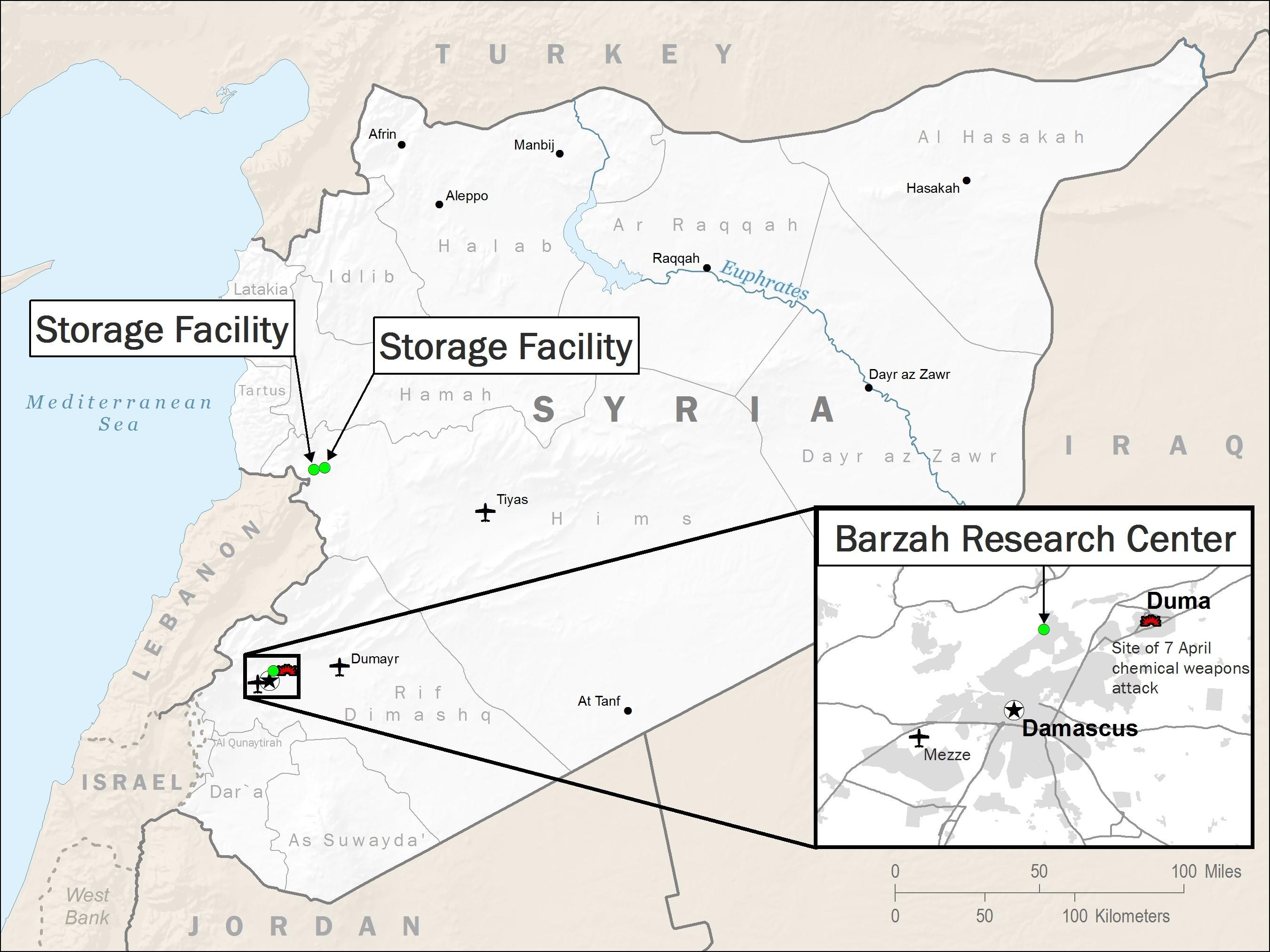 2018 Missile Strikes Against Syria - Wikipedia  Dod 2020 Julian Calendar Printable