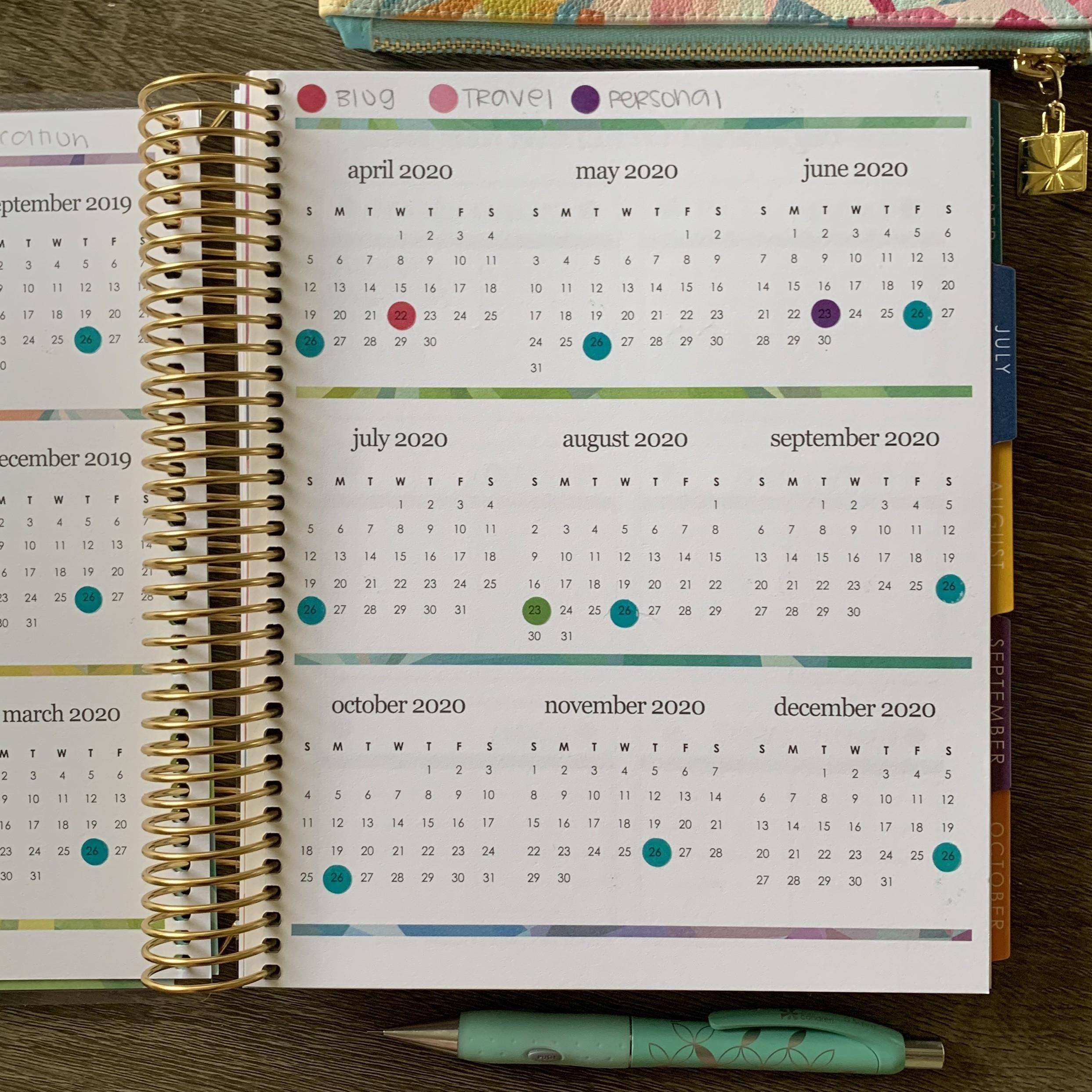 2019-2020 Budget Planner – La Plans  2020 Bill Pay Calendar