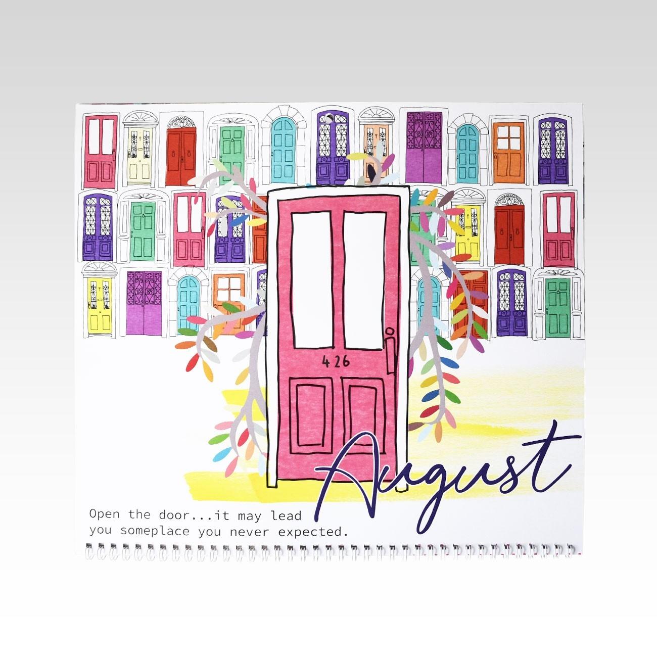 2020 Calendar  2020 Calendar With Open Squares
