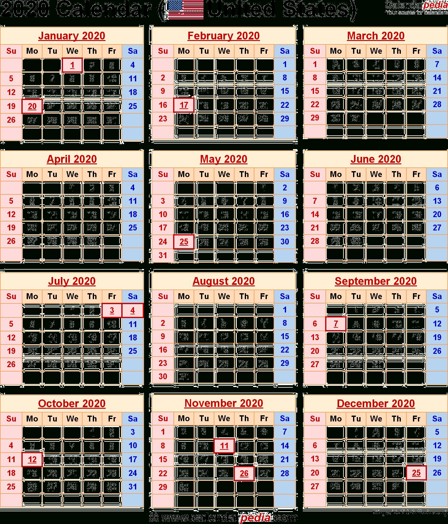 2020 Calendar Png Transparent Images | Png All  Financial Year Dates 2020/2020