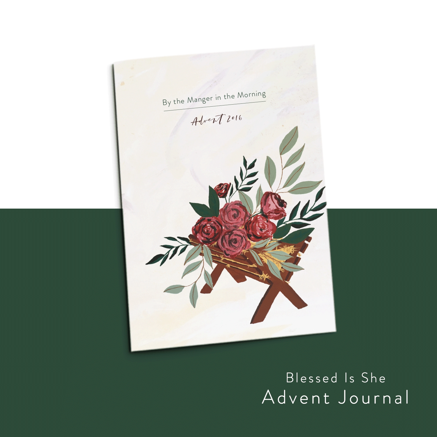 Advent-Journalthe Manger In The Morning 'blessed Is She  Advent Scripture 2020
