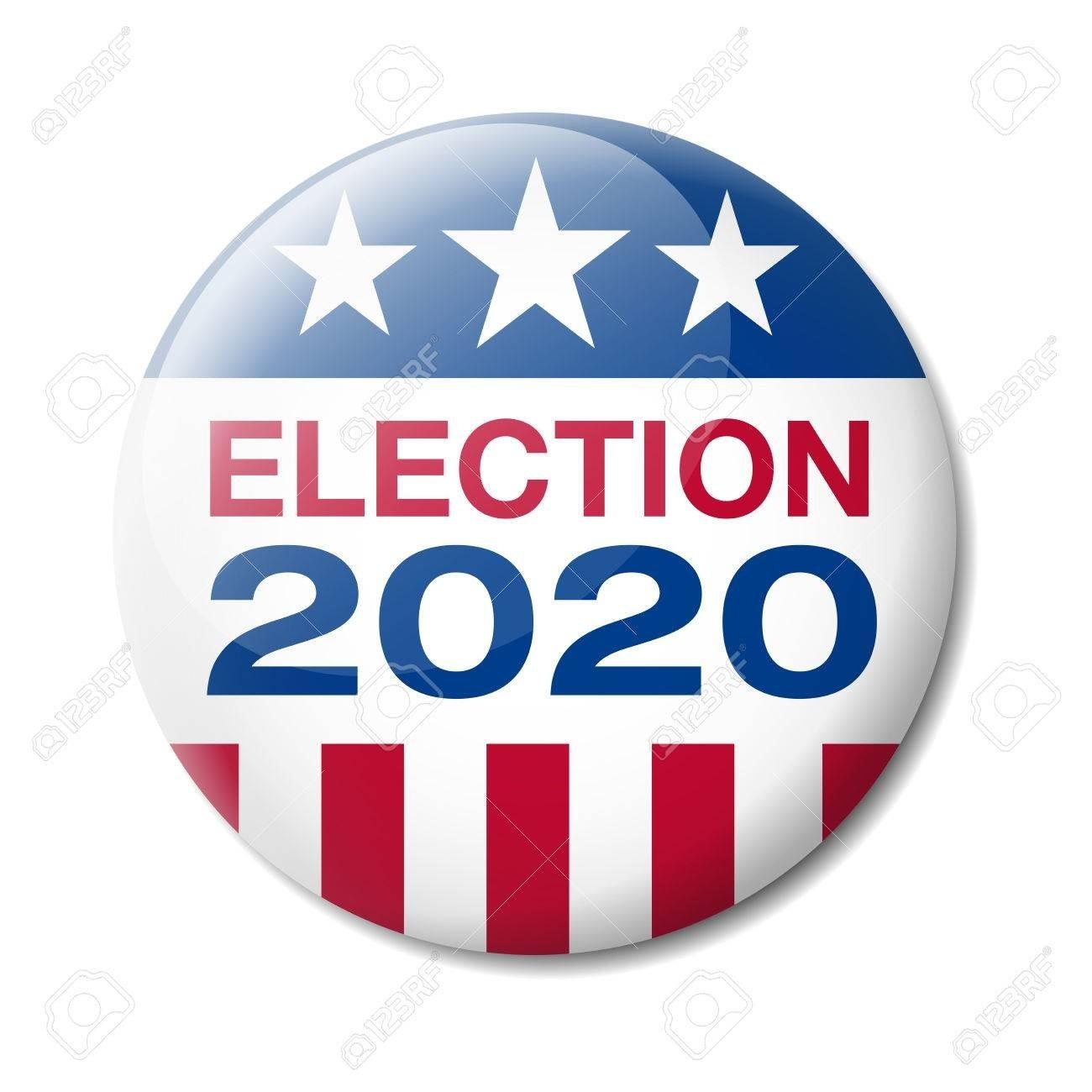 Badge Usa Election 2020  November Clipart 2020