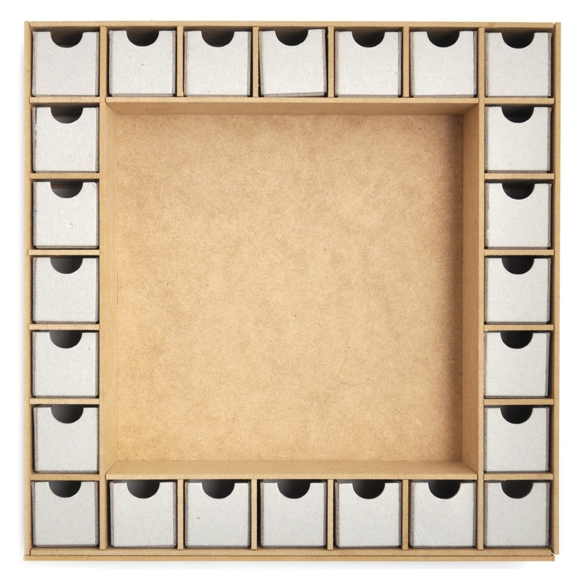Beyond The Page Mdf Square Shadow Box Advent Calendar  Beyond The Page Mdf Advent Calendar