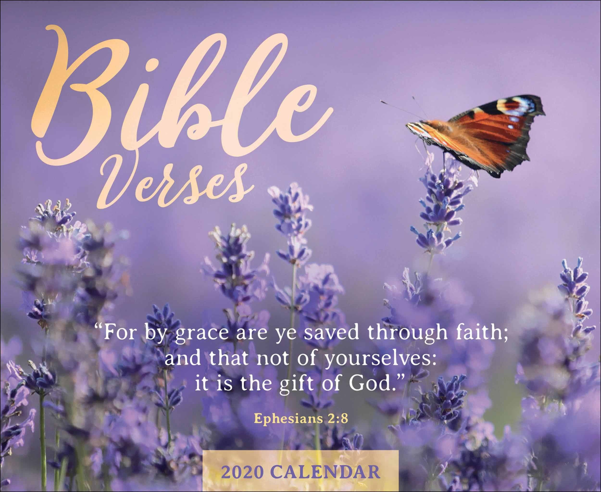 Bible Verses Desk Calendar 2020  Advent Scripture Readings 2020 Calendar