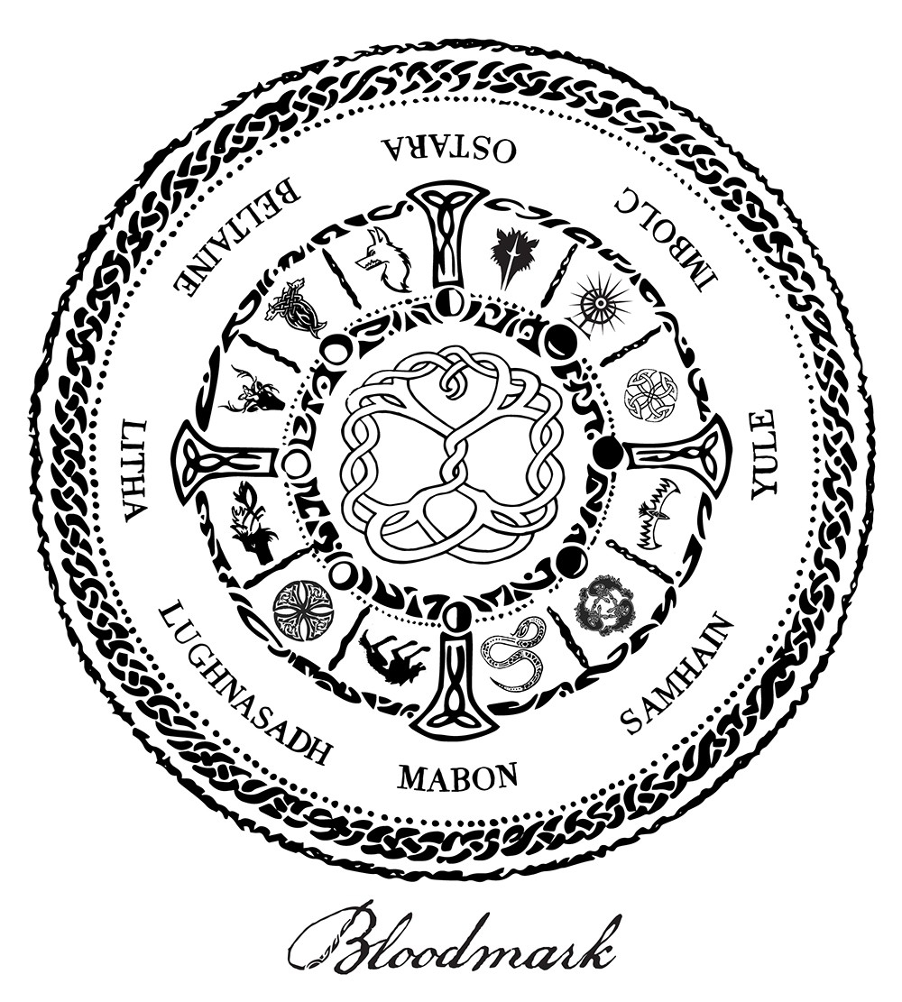Bloodmark Saga » Bloodmark Solar And Lunar Calendar  Lunar Calendar And Solar Calendar
