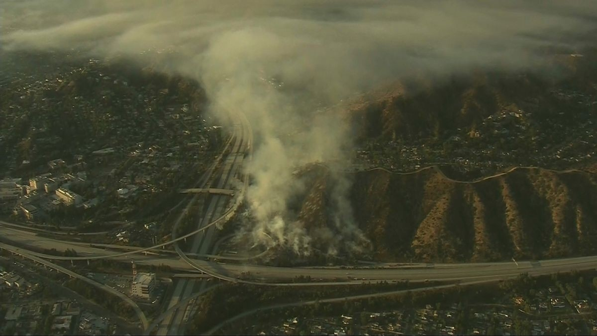 Brush Fire Prompted Mandatory Evacuations For Several Hours  Fire Glendale August 2020