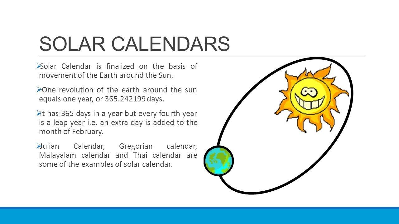 Calendar System Presenteds.sathish. Content  365 Day Julian Calendar