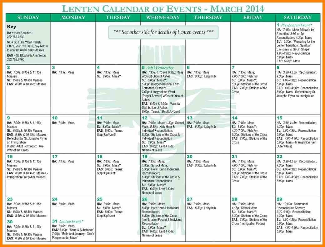 Church Calendar Template 3 - Fabulous-Florida-Keys  Church Calendar Template