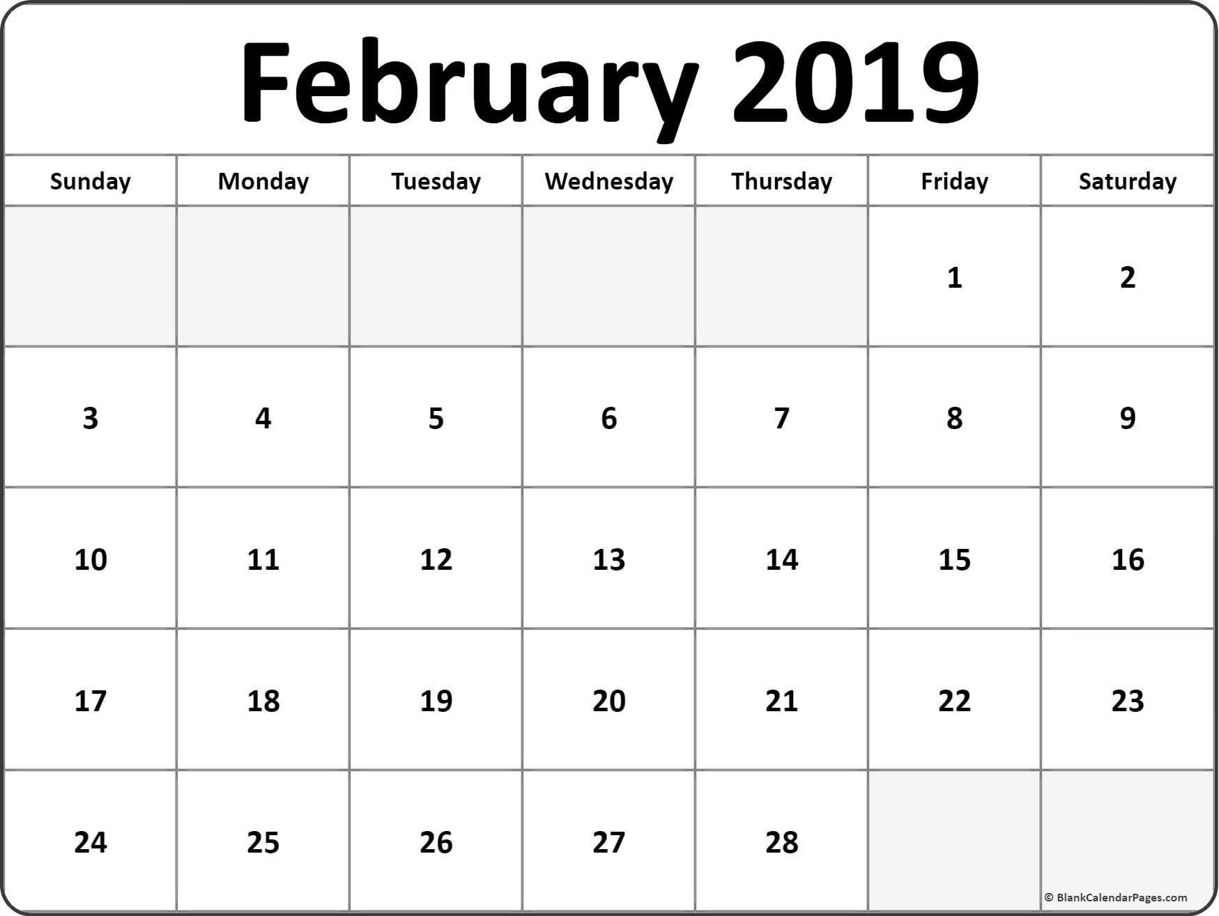 December 2019 Blank Calendar | Calendar Template  Rancholasvoces Free Printable Calendar