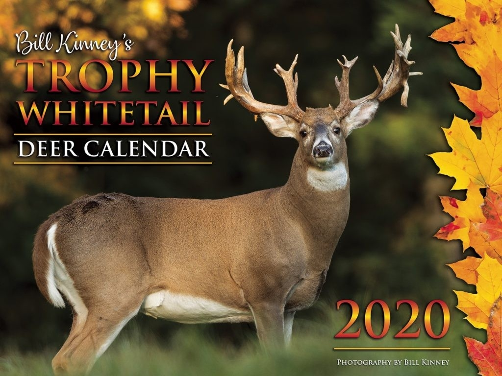 Deer Calendar - Billkinney %  Deer Rut Whitetail 2020