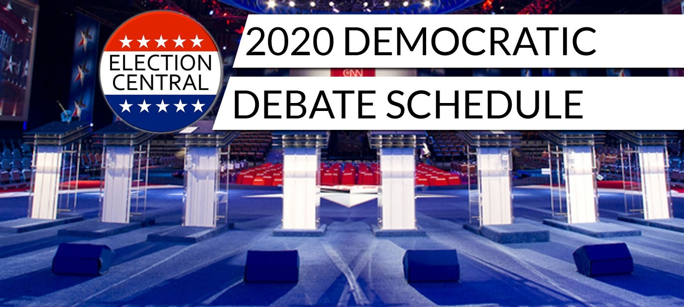 Democratic Debate Schedule (2020 Primary Debates) - Election  Usaf Julian Date Calendar 2020 Printable