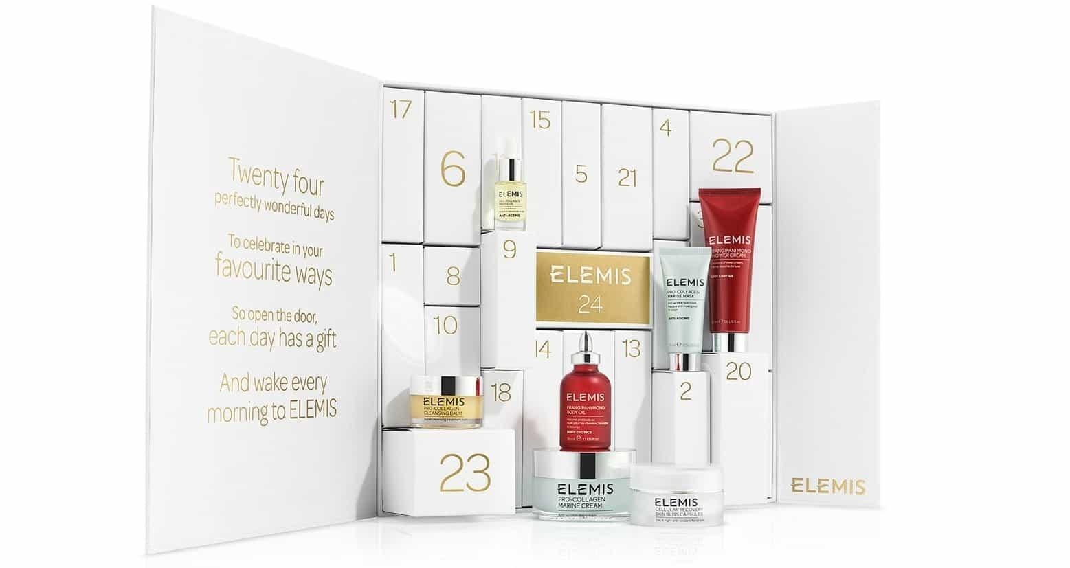 Elemis Advent Calendar 2017 Available Now + Full Spoilers  Elemis Advent Calendar