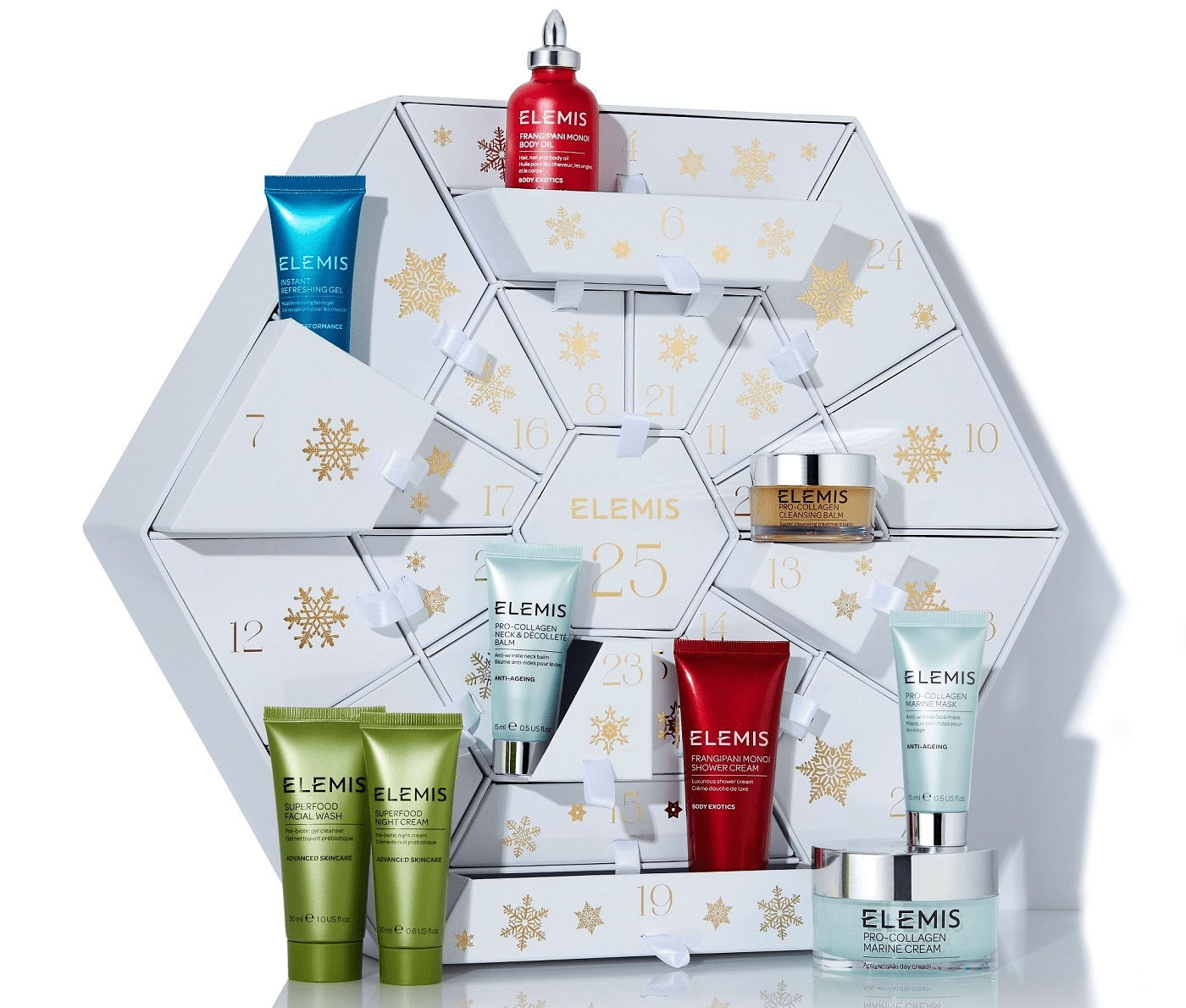 Elemis Advent Calendar 2018 Available Now + Full Spoilers  Elemis Advent Calendar