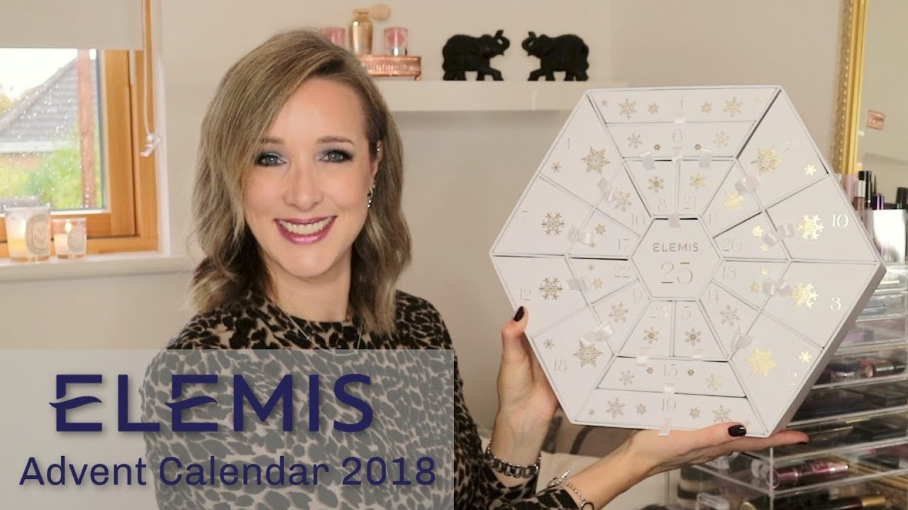 Elemis Advent Calendar 2018 - Unboxing And Review *spoilers!*  Elemis Advent Calendar