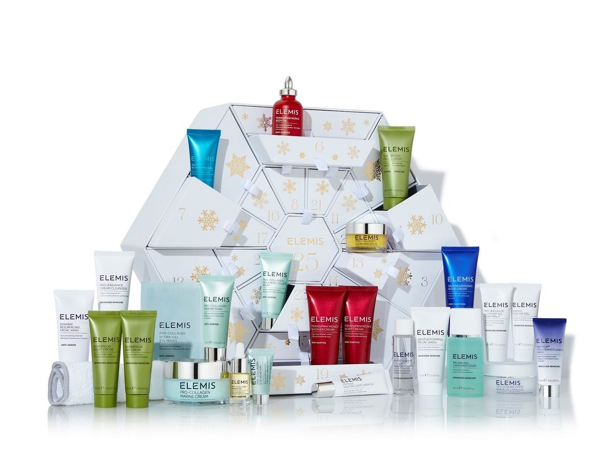 Elemis Reveal 25 Days Of Beauty Advent Calendar - And  Elemis Advent Calendar