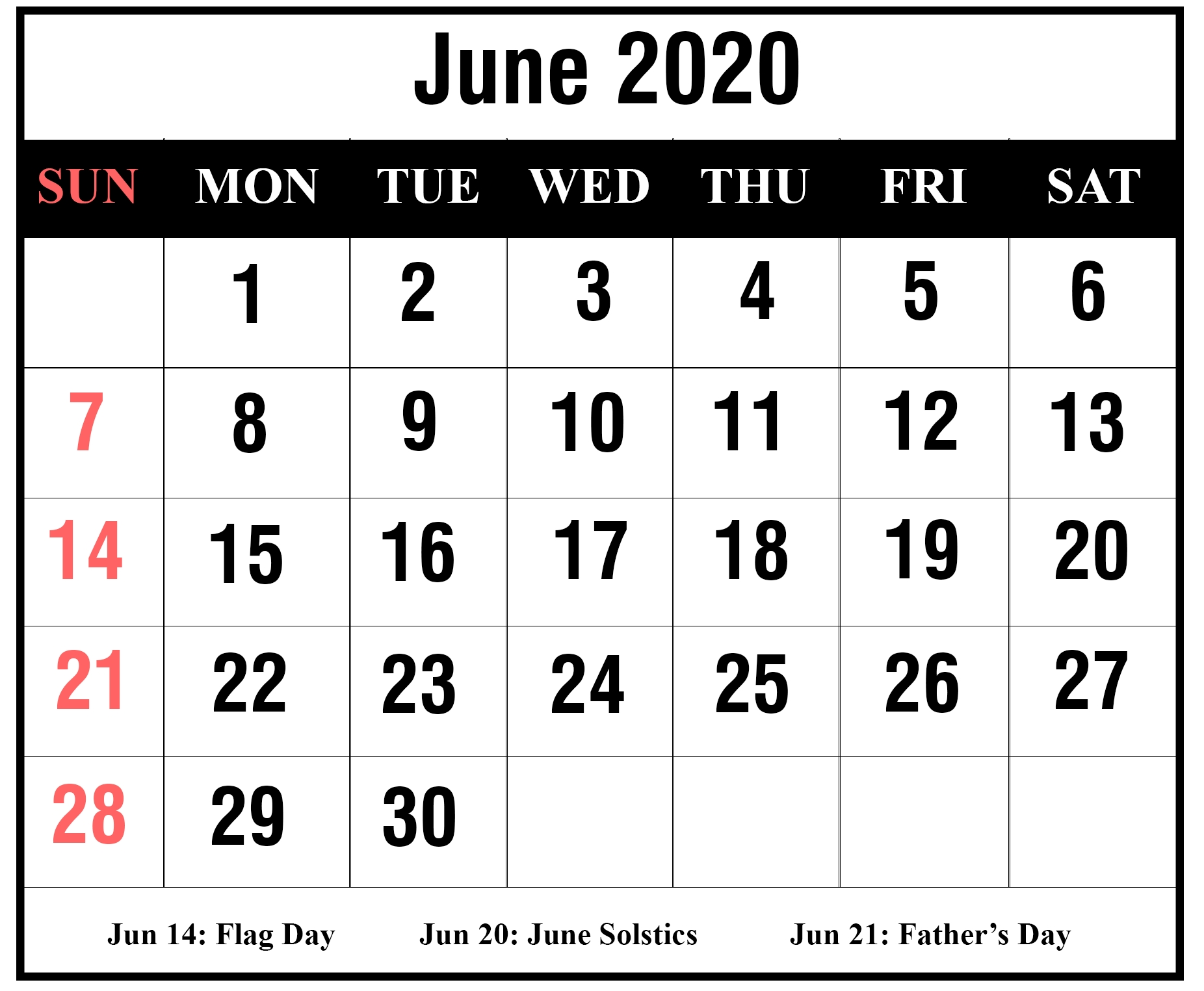 Free Printable 2020 Calendar With Holidays South Africa  2020 Calendar Template With Catholic Holidays