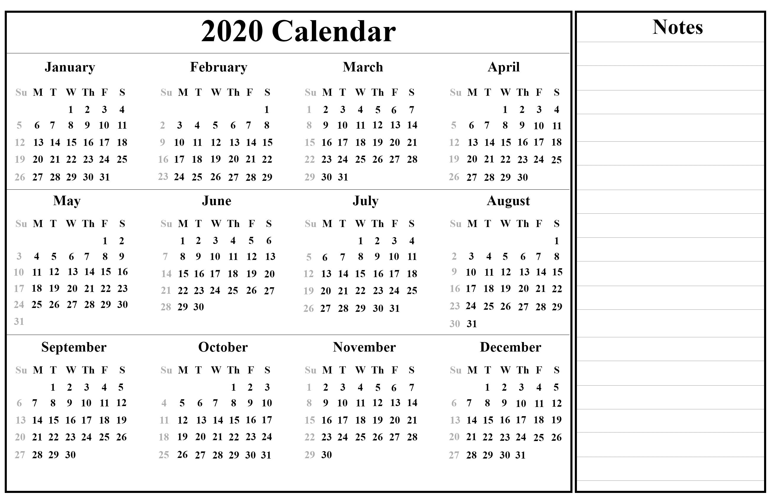 Free Printable Australia Calendar 2020 In Pdf, Excel & Word  July 2020 To June 2020 Australia Calendar