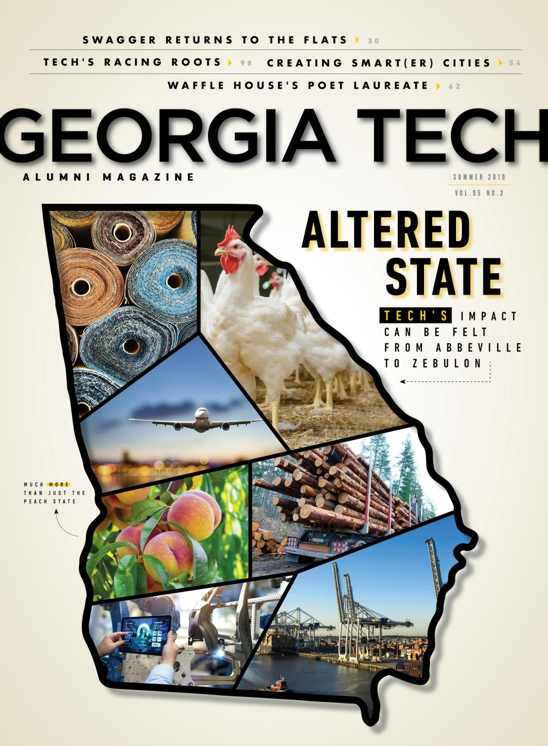 Georgia Tech Alumni Magazine, Vol. 95 No. 2, Summer 2019  Georgia Rut 2020