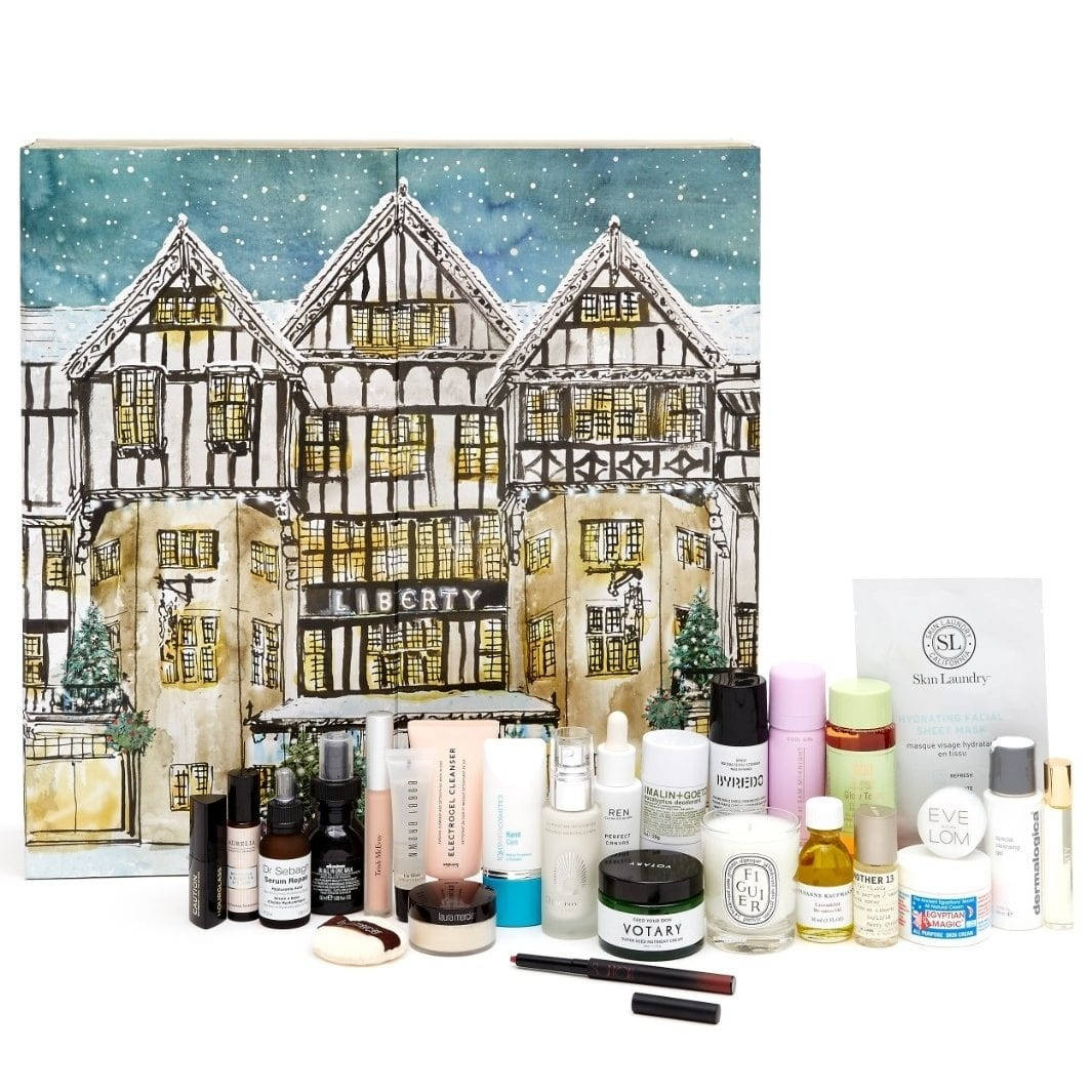 How To Get Your Hands On The Liberty Advent Calendar This  Beauty Advent Calendar 2020 John Lewis Contents