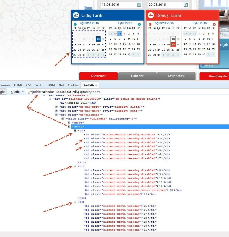 How To Select A Date From Datepicker Using Selenium  Calendar With Date Code