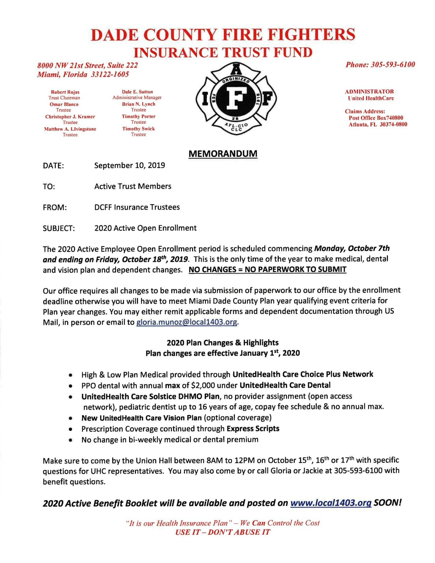 Iaff Local 42  Riverside Fire Department Shift Calendar