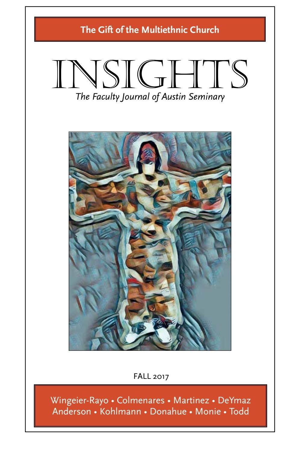 Insights: The Gift Of The Multicultural Church (Fall 2017  2020-2020 Lectionary Calendar United Methodist