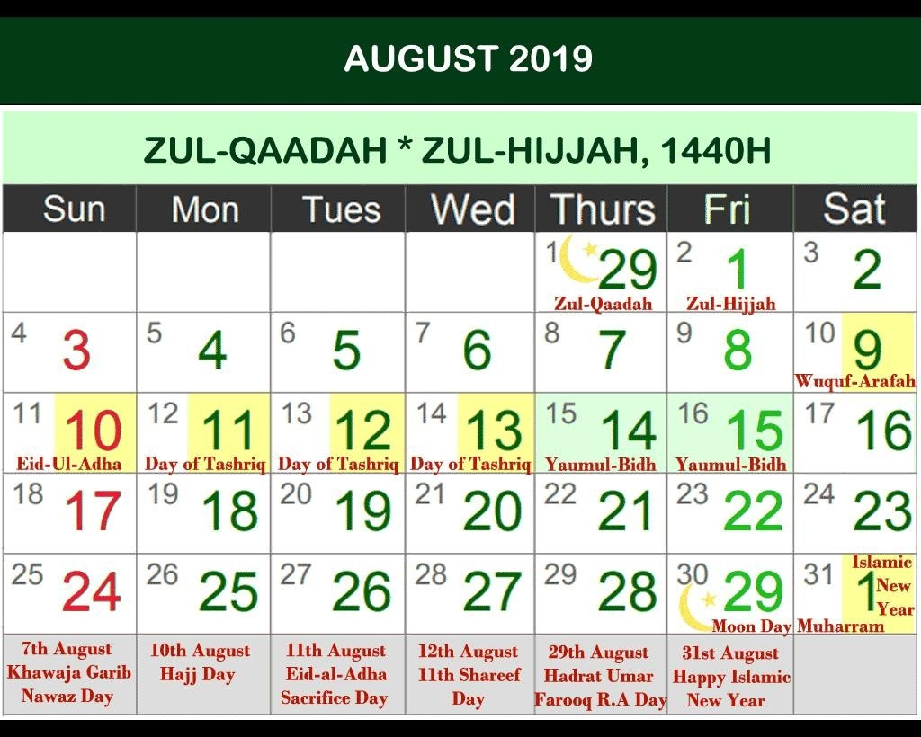 Islamic Calendar 2019 - Hijri Calendar 2020 For Android  Shia Islamic Hijri Calendar 2020