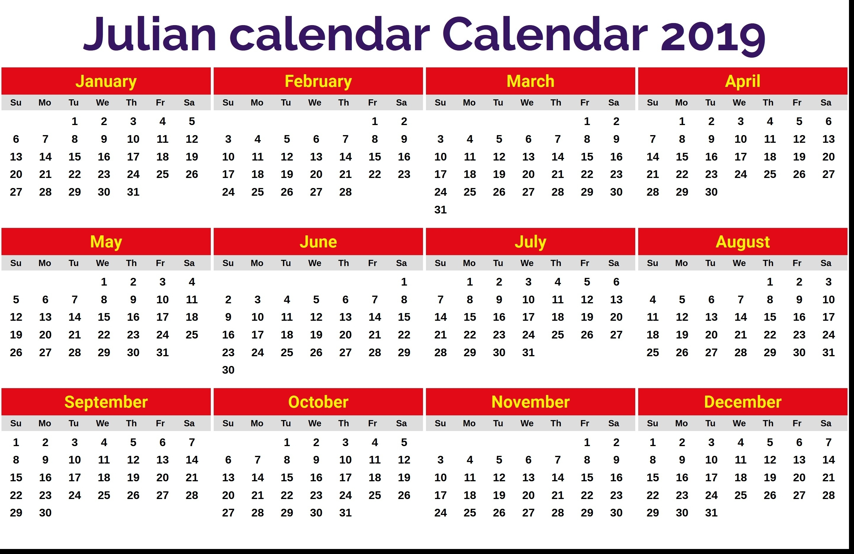 Julian Date August 11 2019 | Calendar Format Example  What Is The Julian Date For August 11