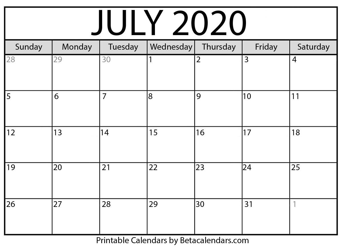 July 2020 Calendar | Calendar 2020  July 2020 To June 2020 Australia Calendar