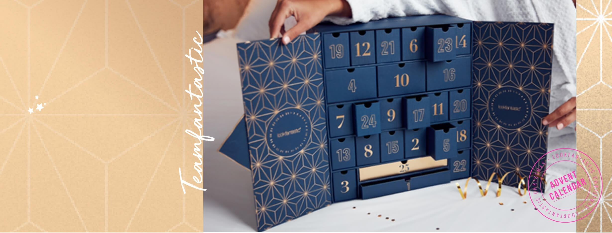 Lookfantastic Advent Calendar 2019 (Worth Over £420) | Free  Elemis Advent Calander 2020