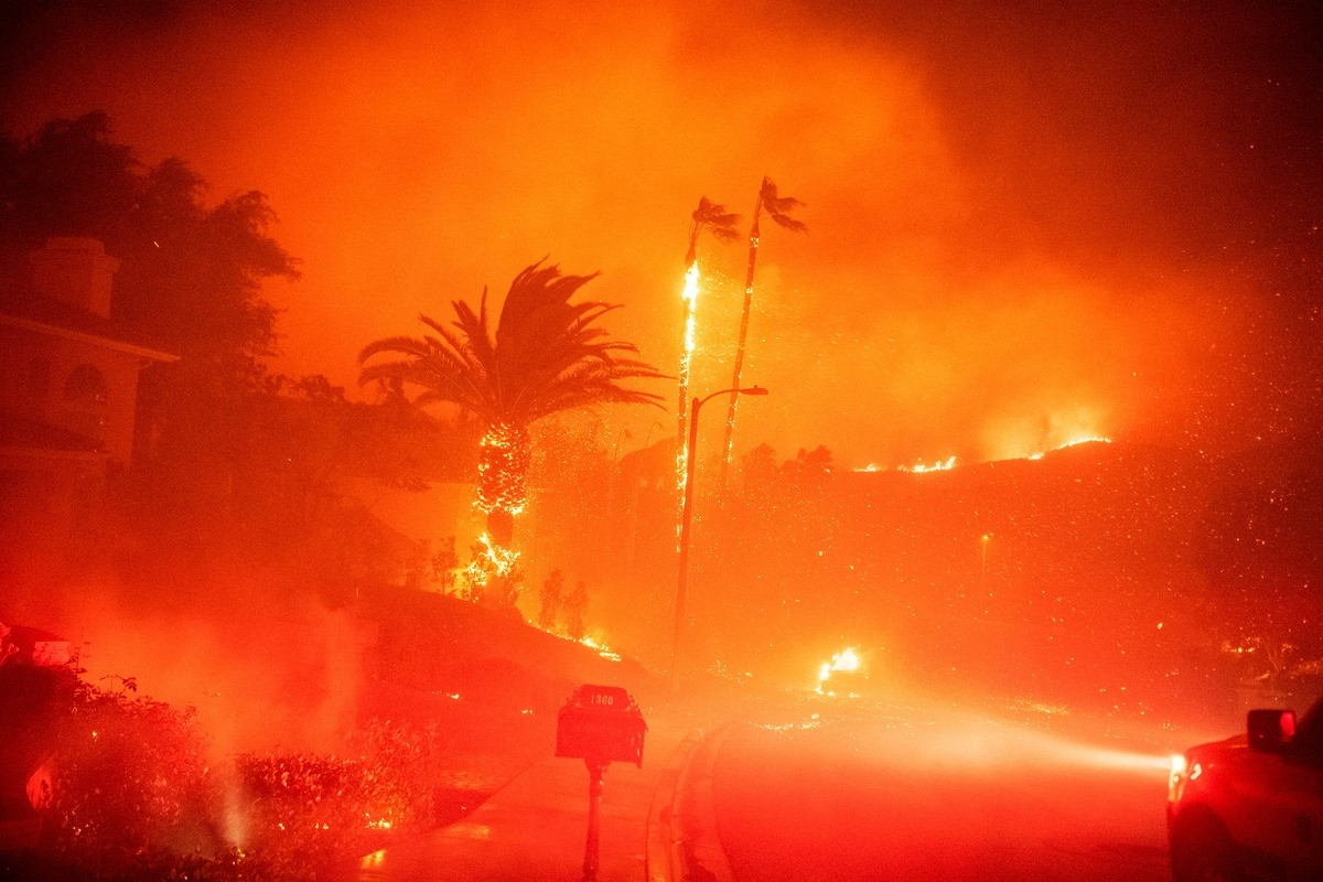 Los Angeles Fire Season Will Never End  Fire Glendale August 2020