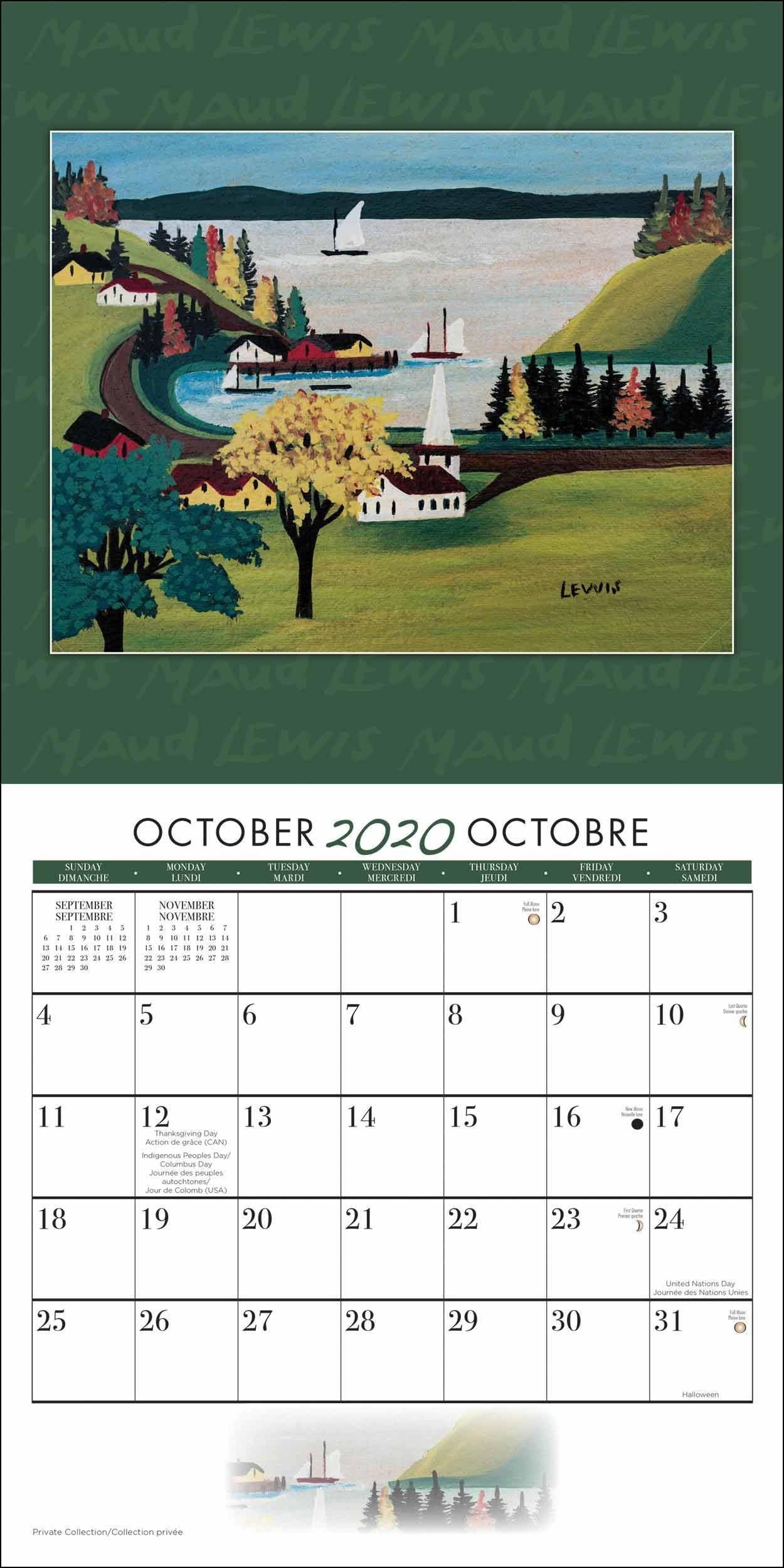 Maud Lewis Calendar 2020  John Lewis Advent Calendar 2020