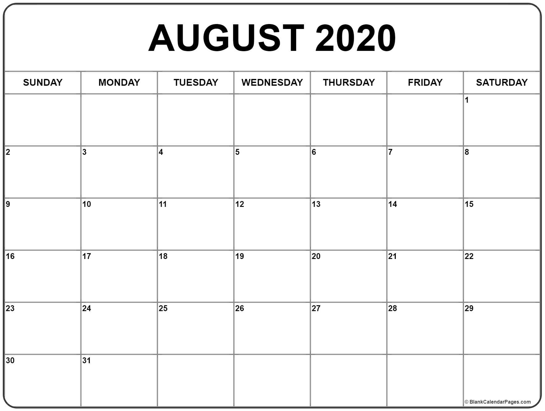 Planner August 2020 To December 2020 | Gallery Of Calendar  Calandar For August To December 2020
