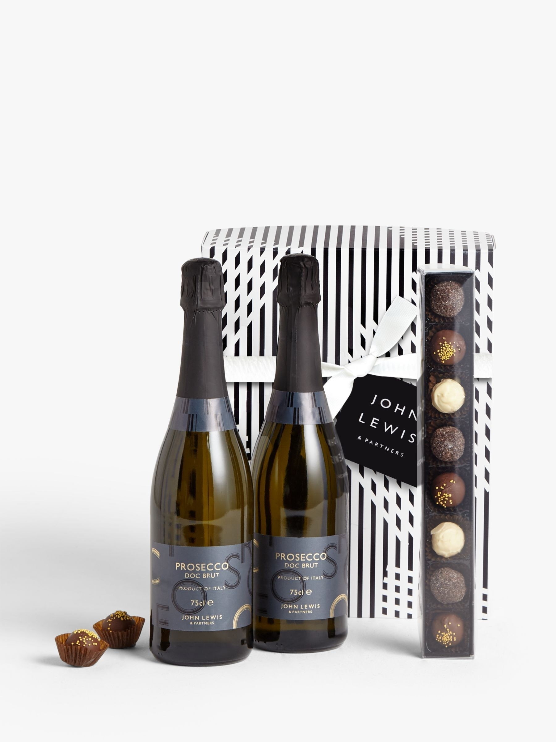 Prosecco Duo And Chocolates Gift Box  John Lewis Advent Calendar 2020