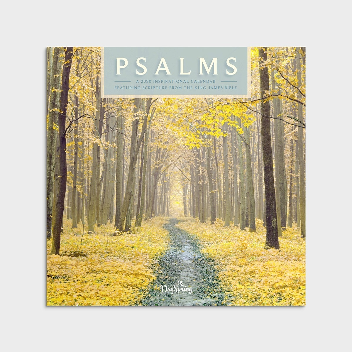 Psalms Trees - 2020 Wall Calendar  2020 Christian Advent Calendar With Scripture