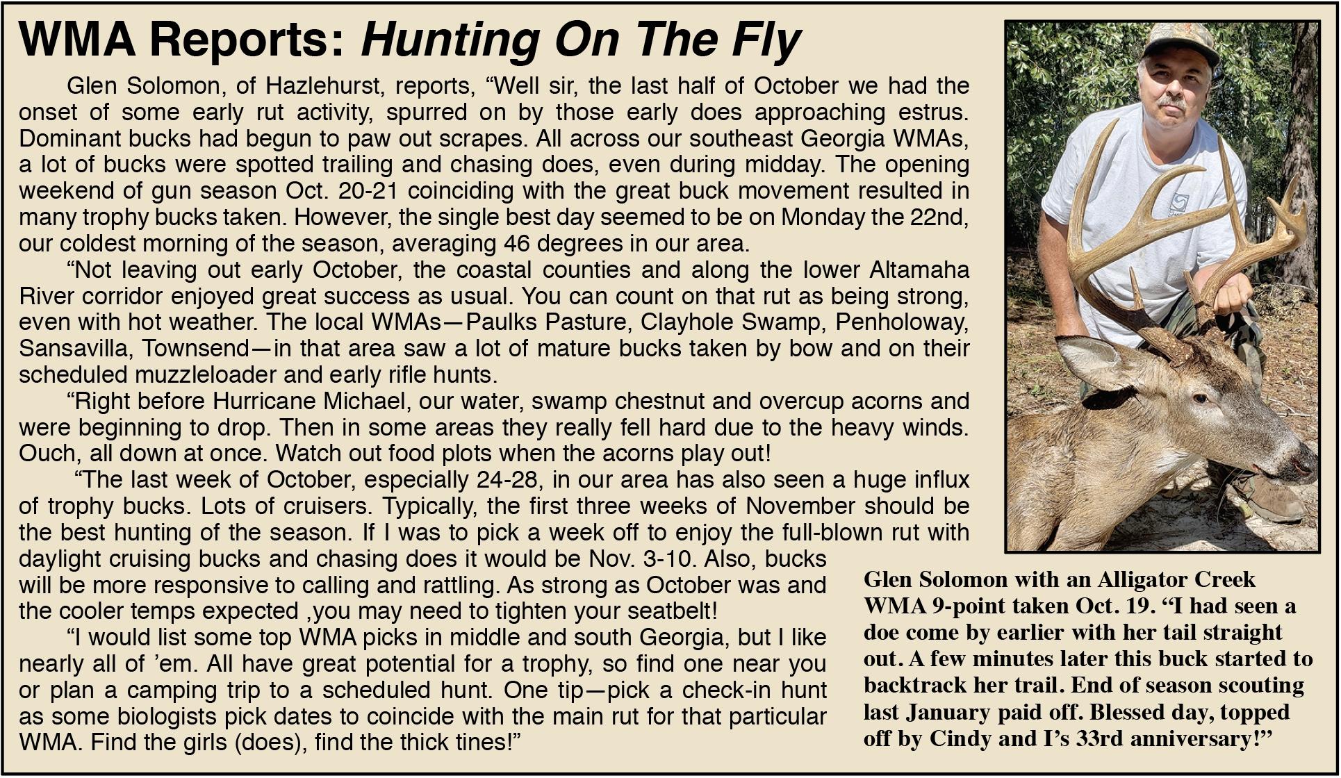 Rut Reports From The Deer Woods  Georgia Deer Rut App